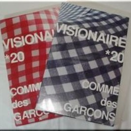 VISIONAIRE - CommedesGarconsRed&Blue