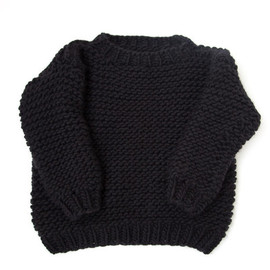 I love Mr. Mittens - Wool boxy jumper