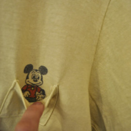 JACKSON MATISSE - MICKEY POCKET Tシャツ イエロー