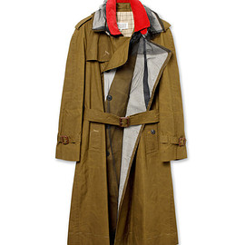 Maison Martin Margiela - Dry Wax Trench Coat