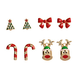 H & M - pierced earrings for Christmas