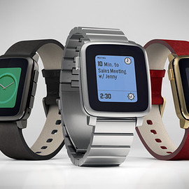 Pebble Technology - Pebble Time Steel