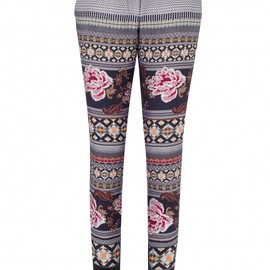 Matthew Williamson - Floral Folk Trousers