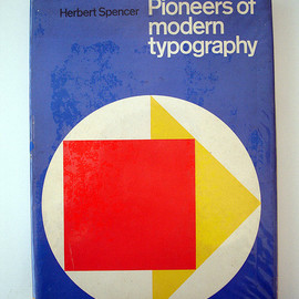 Herbert Spencer - Pioneers of modern typography, 1969(Hardcover)