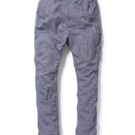 nonnative - ROAMER CHINO PANTS - COTTON E.O.E. CHAMBRAY
