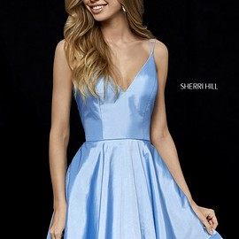 Women's Shirt Dresses, Light blue Dresses, Loose Fitting top,Single breasted gown, Women gown