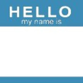 FADEBOMB-ORIGINAL - BLUE HELLO my name is