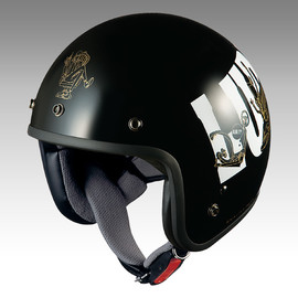 BRUJULA - Lupin the 3rd Bike-Helmet BOB-LP3 LUPIN BLACK