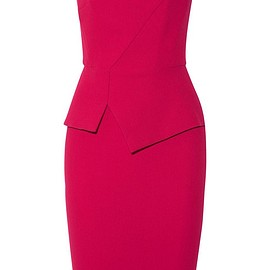 Roland Mouret - Thayer strapless wool-crepe dress