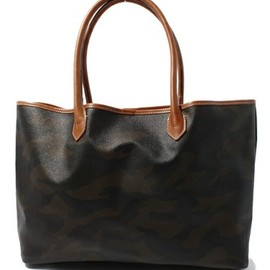 green label relaxing - camouflage tote bag