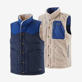 patagonia - Men's Reversible Bivy Down Vest