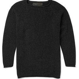 The Elder Statesman - Crew-Neck Cashmere Sweater