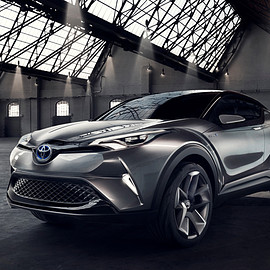 Toyota - C-HR Concept, Car