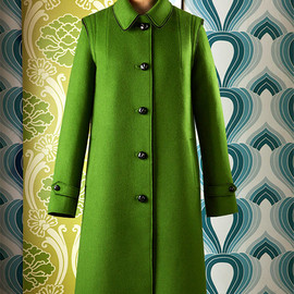 Provvidenza Loden Tal - Women's coat, Loden wool clothing