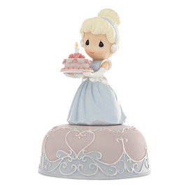 Precious Moments - Cinderella Birthday Musical Figurine by Precious Moments