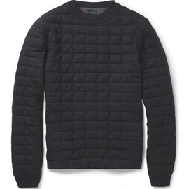 Lanvin - Quilted Wool Sweater