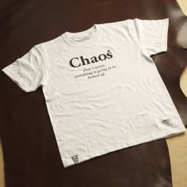 TRAVERSE TOKYO(forty percents against rights®) - Chaos Tee (WHITE)