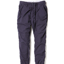 nonnative - DWELLER EASY RIB PANTS - C/P CANADIAN ARMY CLOTH