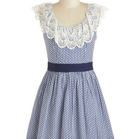 Modcloth - Blueberry Muffin Dress