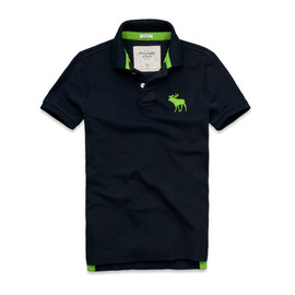 Abercrombie & Fitch - CONNERY POND POLO NAVY