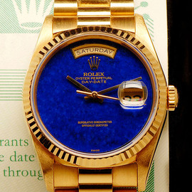 ROLEX - Day Date Blue Lapis