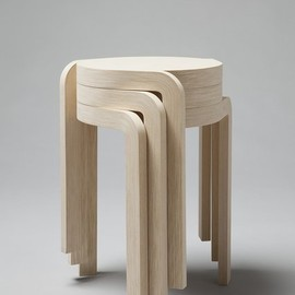 Swedish Staffan Holm - Karusell stool