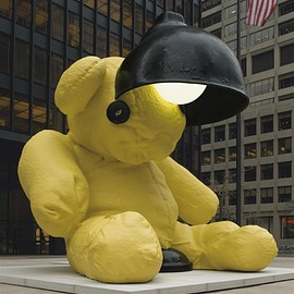 Urs Fischer - Untitled (Lamp/Bear)