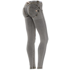 freddy - WR.UP® SHAPING EFFECT - Taille Basse - SKINNY - Effet Jean - Avec Strass