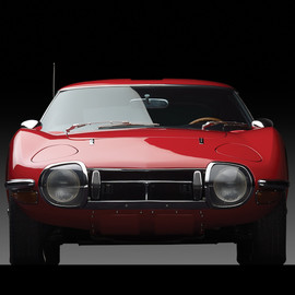TOYOTA - 2000GT 1967 Red