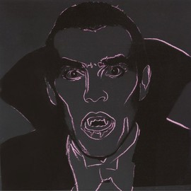 Andy Warhol - Title: Dracula II.264 from Myths Year: 1981
