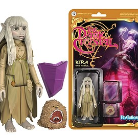 funko - REACTION: THE DARK CRYSTAL - KIRA & FIZZGIG