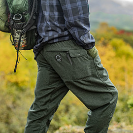 山と道 - 5-Pocket merino pants