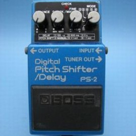 BOSS - PS-2 Digital Pitch Shifter/Delay