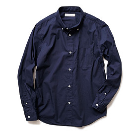 HEAD PORTER PLUS - STANDARD SHIRT NAVY
