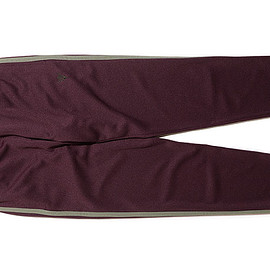 South2 West8 - Trainer Pant-Poly Smooth-Bordeaux