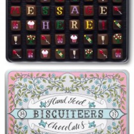 BISCUITEERS - Giant Tin Personalised Chocs