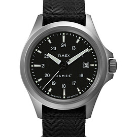 TIMEX, The James Brand - Expedition North 41mm Automatic - Titanium/Black