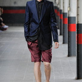 Dries Van Noten - Dries Van Noten 2012s/s Preece Short (Bordeaux)