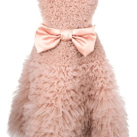 Viktor & Rolf - full strapless bow dress