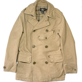 RRL - LOWRENCE TWILL TRENCH