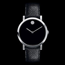 Edge with black dial by Yves Behar