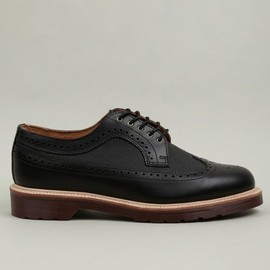 Dr.Martens - X British Millerain Men's Alfred Brogue Shoes