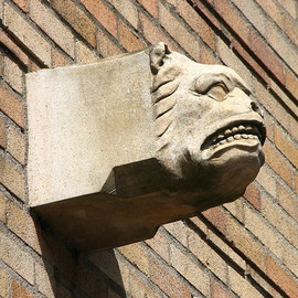 Gargoyles - Neighbors of Woodcraft Building