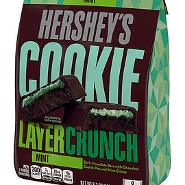 HERSHEY'S - HERSHEY'S COOKIE LAYER CRUNCH Bar - Mint (Stand-Up Pouch)