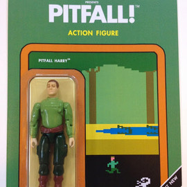 Dan Polydoris - PITFALL! ACTION FIGURE