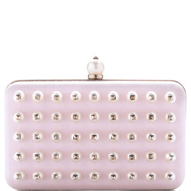VALENTINO - Waxy Rose and Pearl Minaudiere