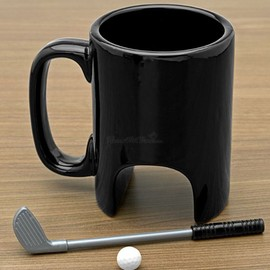 Morning Putt Golfers Coffee Mug / ゴルフ・マグ