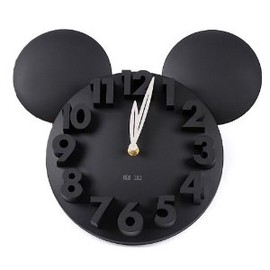 LOCOMO Modern Design Mickey Mouse 3D Wall Clock