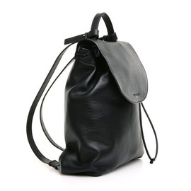 JIL SANDER - ALMOND BAG BLACK