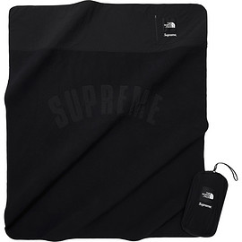 Supreme, THE NORTH FACE - Supreme®/The North Face® Arc Logo Denali Fleece Blanket Black
